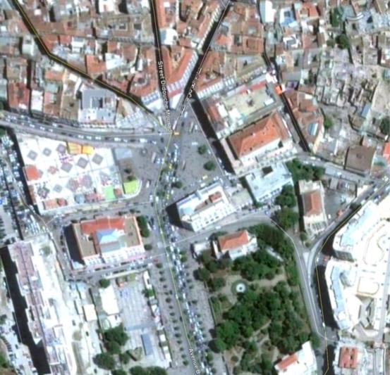 Vue de la Brèche (Source : Google Earth)