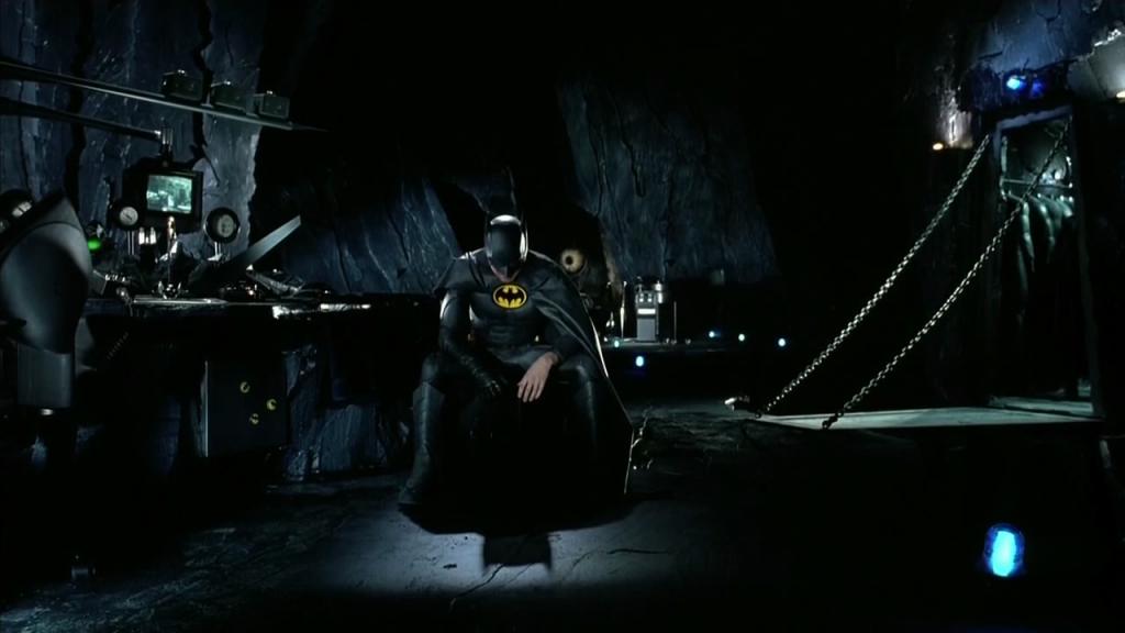 Batcave de Batman, le défi (Tim Burton, 1991)
