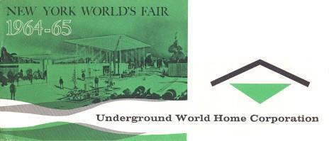 La Maison témoin exposé à New York en 1964 attire plus d'1,6 millions de visiteurs (Crédits : Underground World Home Corp, Courtesy Bill Cotter)