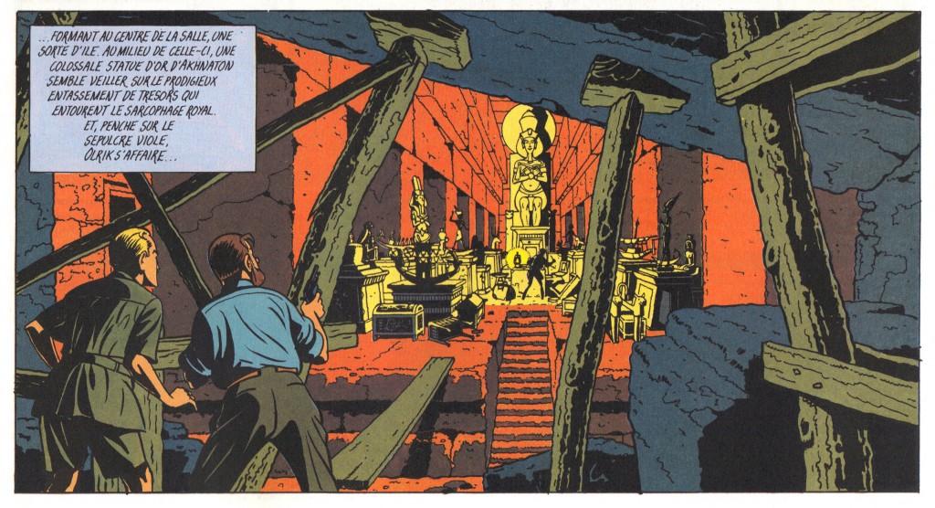 Le Mystère de la Grande Pyramide, tome 2, p. 40, case 7