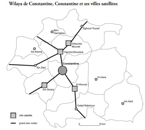 Constantine : d'une ville attractive à une ville répulsive (Source : Rabah Boussouf)