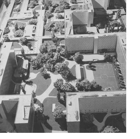 Ville radieuse, Sans lieu, Le Corbusier (FLC/ADAGP, 1930)