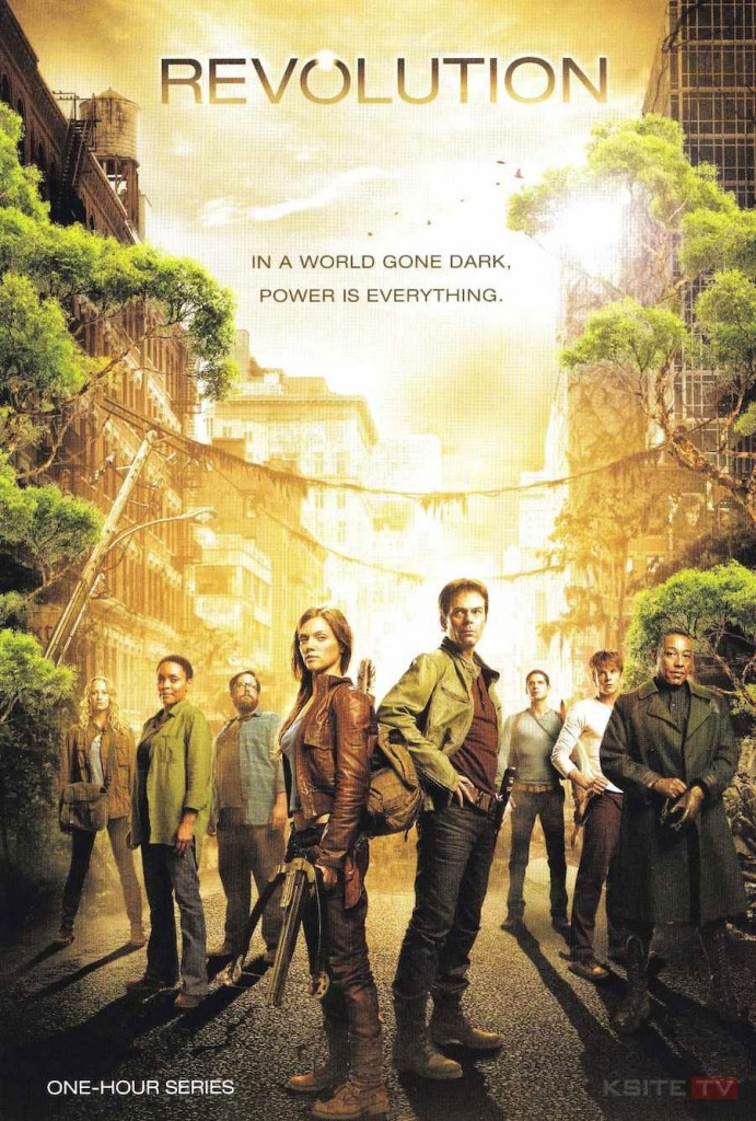 Affiche de la série Revolution, 2012.