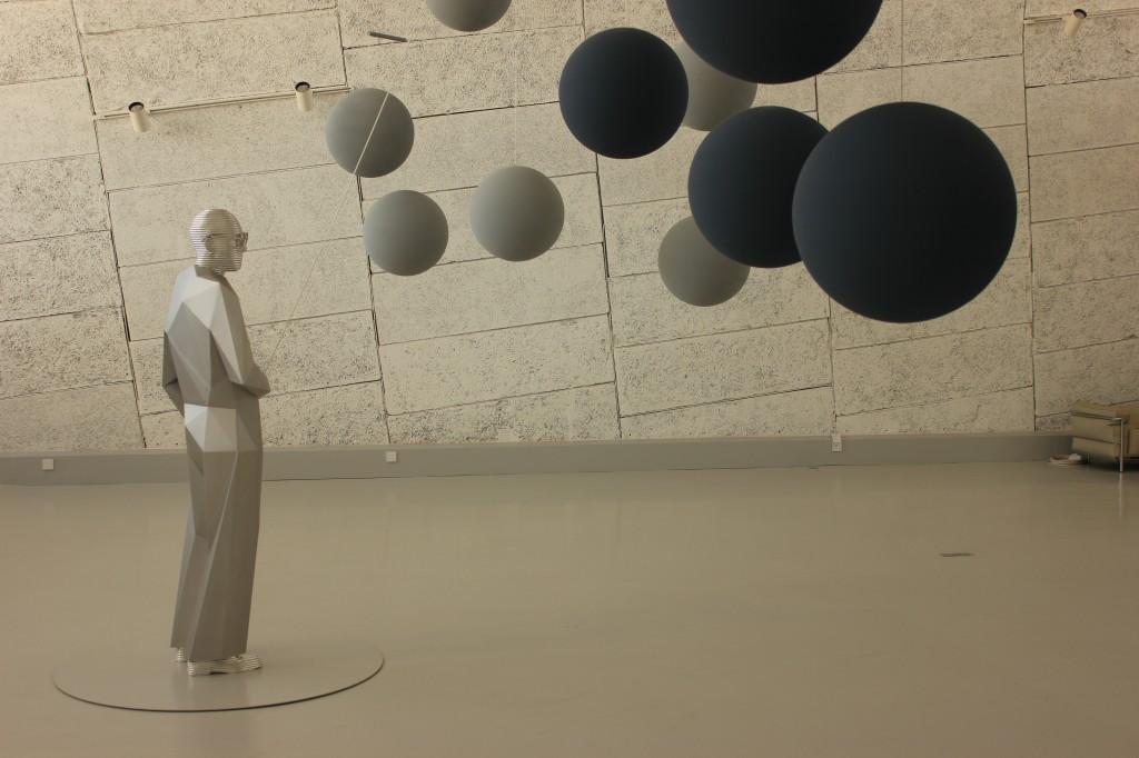 Le Corbusier par Xavier Veilhan