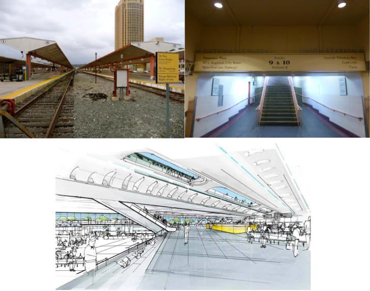4. Union Station avant/après : le projet de réhabilitation de Grimshaw + Gruen (Ruggeri, 2013 ; Metro, 2013)