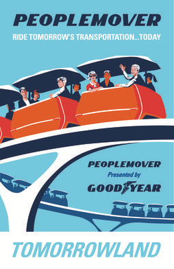 6. Le People-Mover (DisneyWorld Florida, 1982)