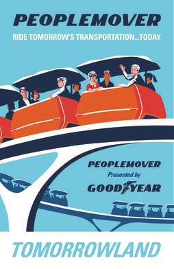 6. Le People-Mover (DisneyWorld Florida, 1982)