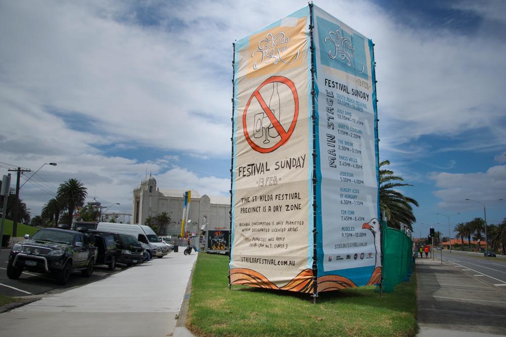 10. La publicisation d'un festival familial et sans alcool (Dorignon, 2011)