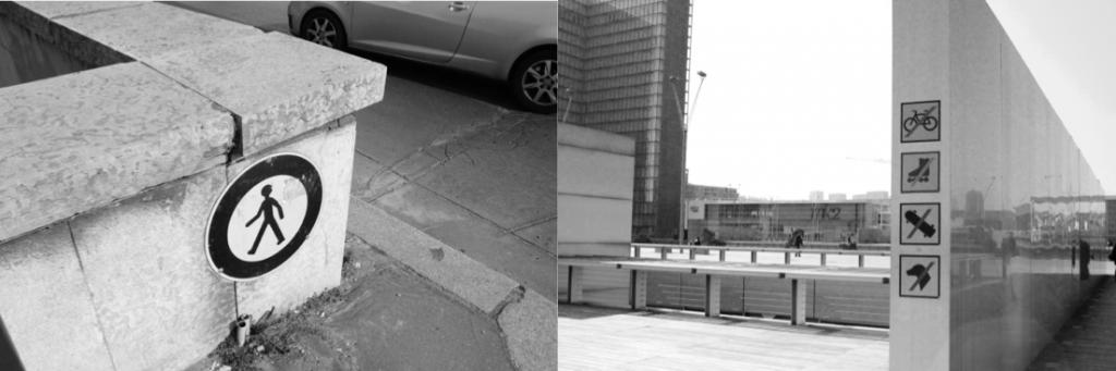 Interdiction d'accès et d'usage dans l'espace public de la ville (Tricon, 2013)