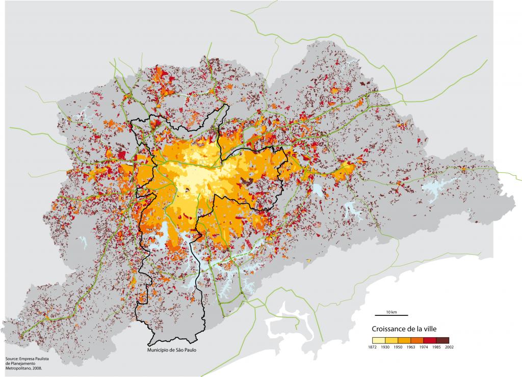 Croissance Sao Paulo
