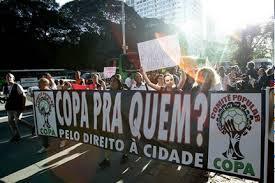 Manifestations à Natal (Comitê Popular da Copa de Natal, 2012)