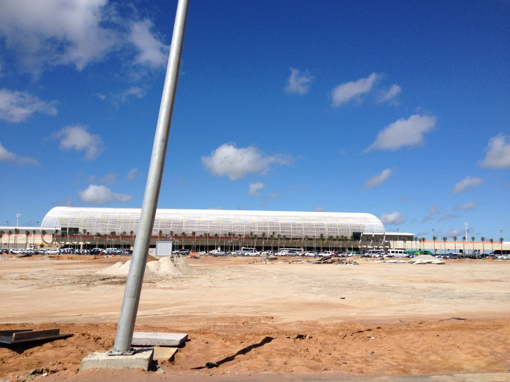 Aéroport de Sao Gonçalo (Eliana Guerra, 31 mai 2014)