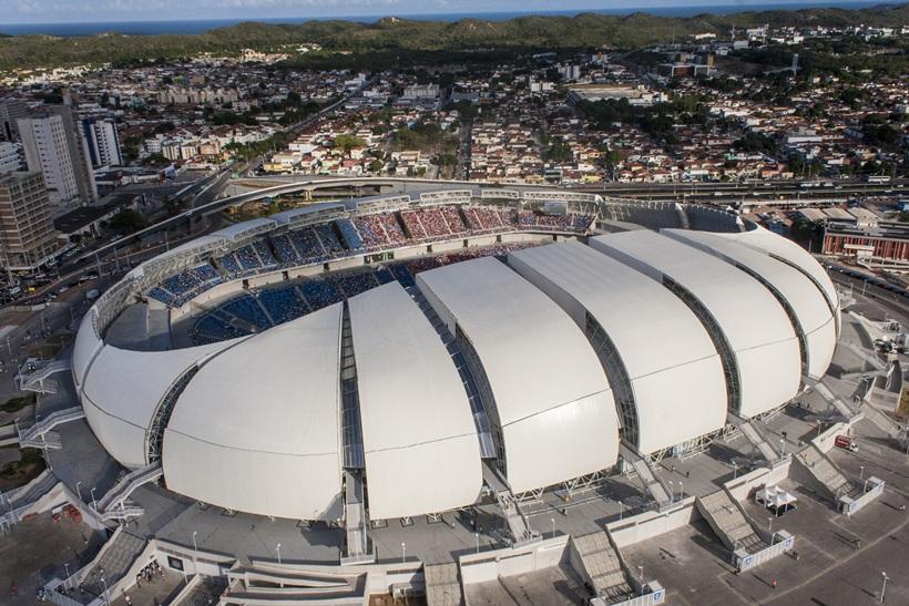 Brésil, Natal – Grand Stade Arena Das Dunas (Portal da Copa, site du gouvernement brésilien sur la Coupe du Monde de 2014, http://www.copa2014.gov.br/pt-br/sedes/natal/arena - juin 2014)