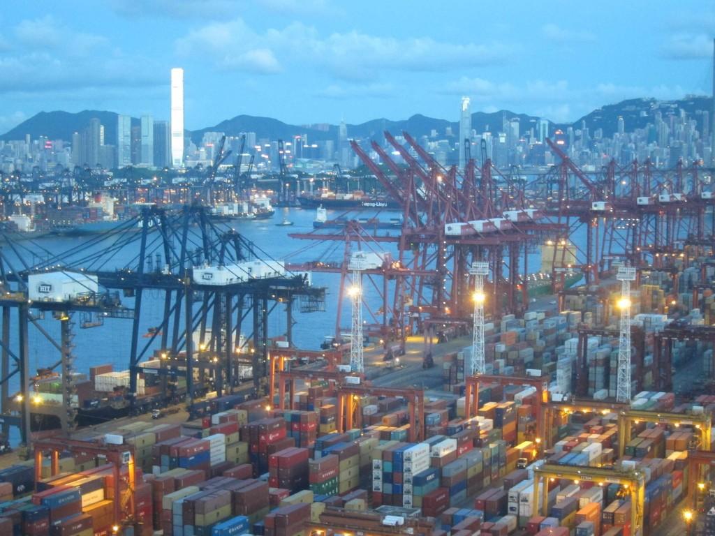Le terminal à conteneurs de Tsing Yi (Hong Kong) (Boquet 2011)