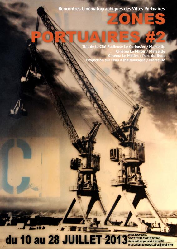Affiche de l'édition 2013 du festival «Zones portuaires», (Zones Portuaires, 2013)