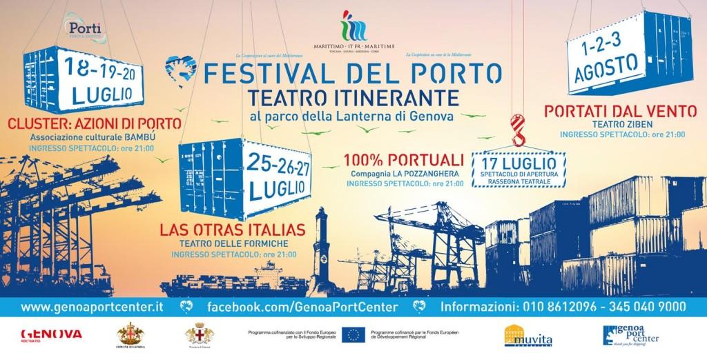 Affiche de l'édition 2014 du «Festival del Porto» (Festival del Porto, 2014)