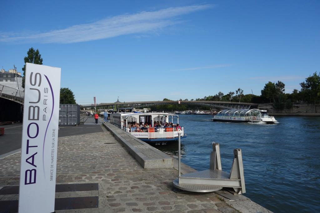 4. La fonction portuaire touristique: berges Rive gauche – Orsay (Jean Debrie, 22 août 2014)