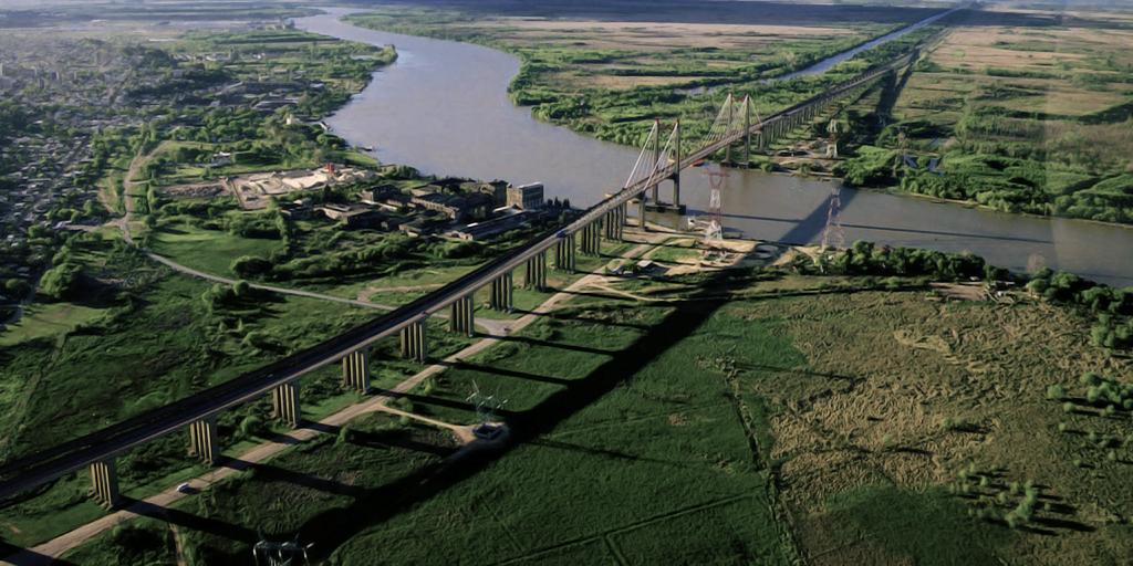 Vue aérienne de Zárate (Andrés Martín, 2009)