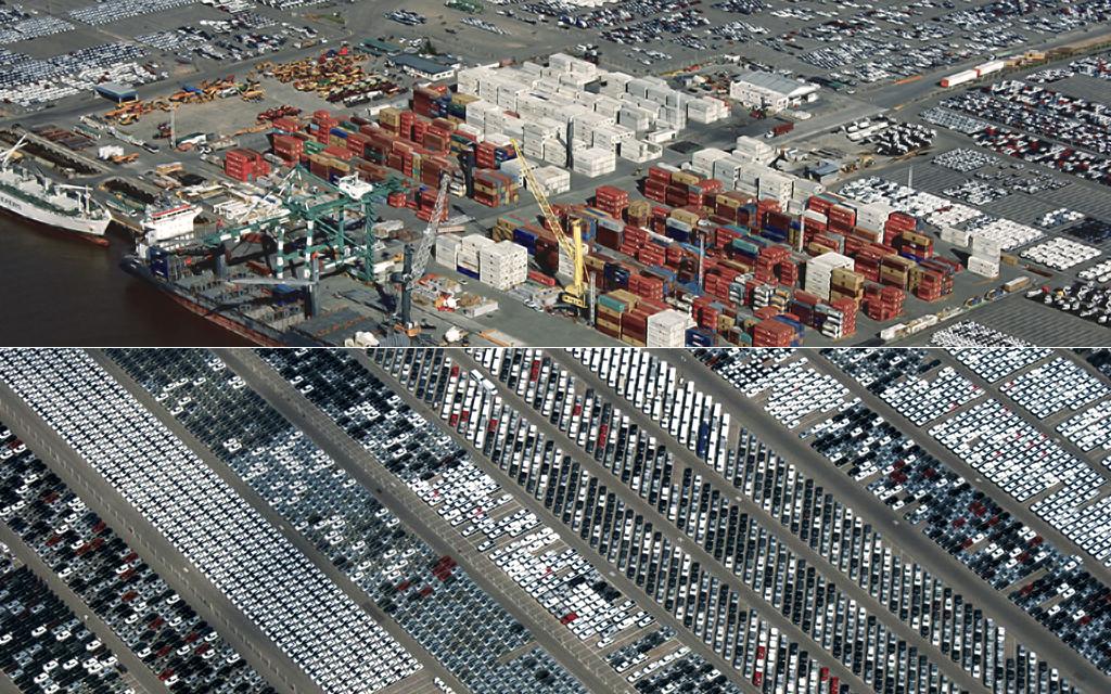 Installations portuaires de Terminal Zárate (photos institutionnelles sur http://www.tz.com.ar, 2013)
