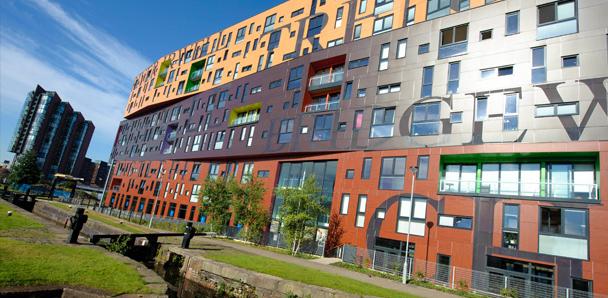 Le bâtiment Chips à New Islington (Urban Splash, 2012)