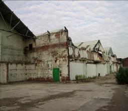 Friches industrielles à proximité de Meadowhall (Max Rousseau, 2006)