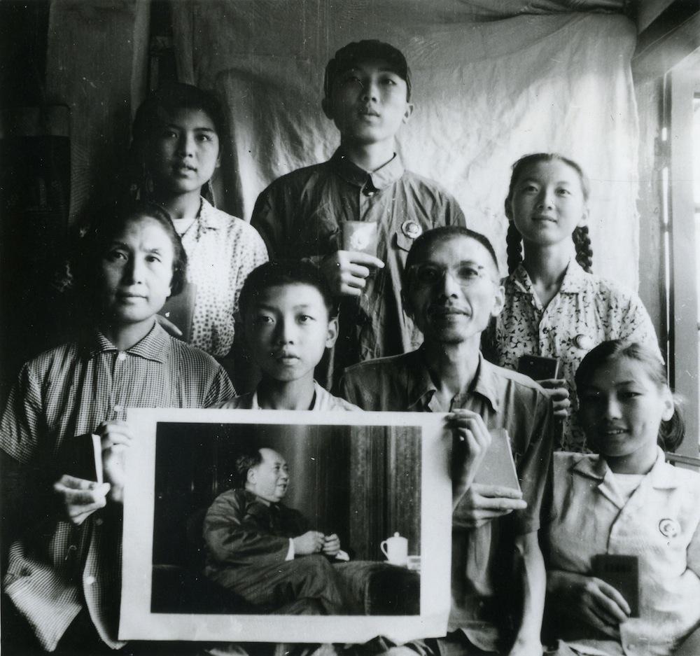 La famille de l'auteur en 1968 (droits réservés)