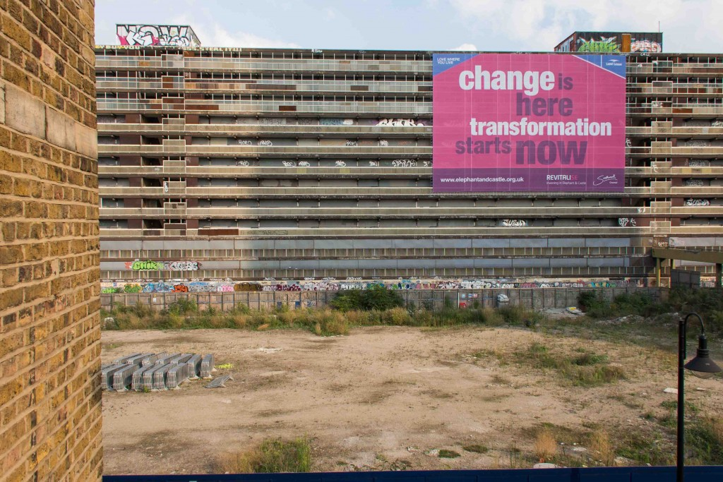 Avant la démolition du Heygate Estate, Elephant and Castle (Appert, 2013)