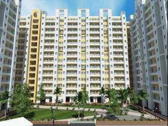 5a: Image de synthèse des immeubles d'une quinzaine d'étages pour reloger les habitants du bidonville.