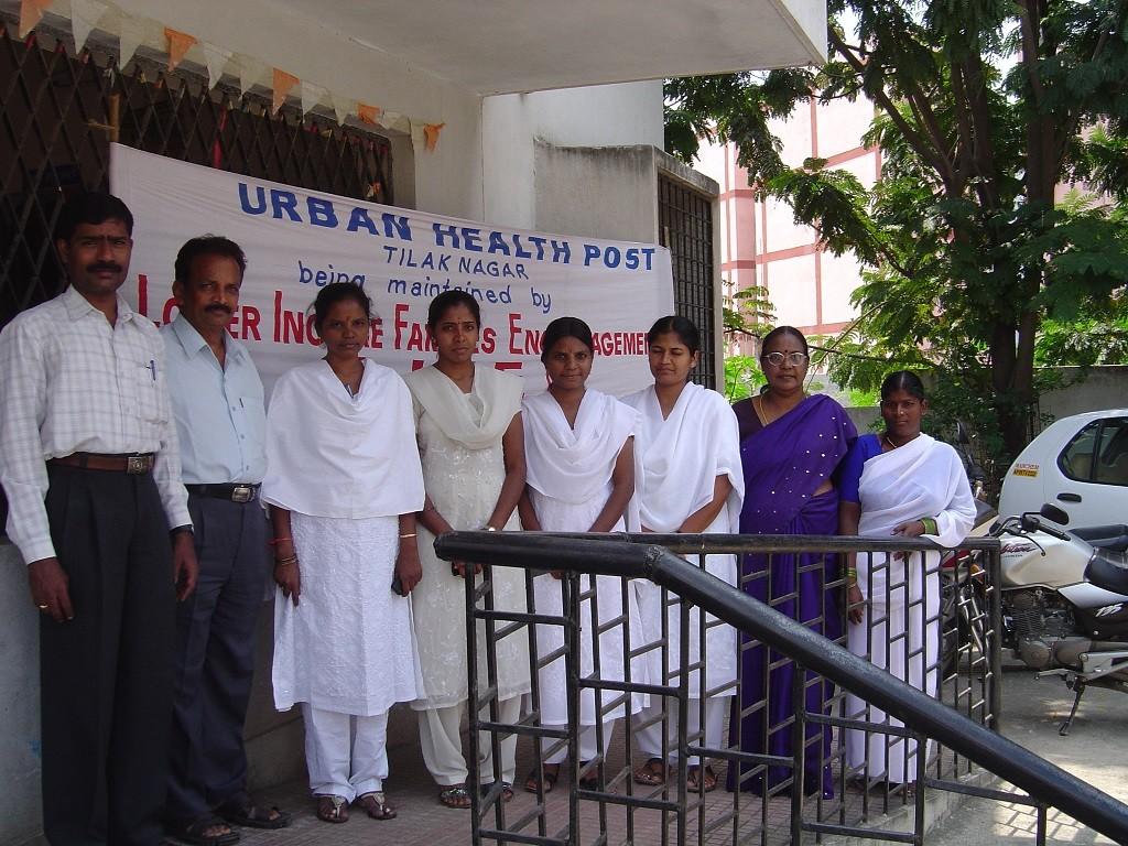 Photo 1: Clinique à Tilak Nagar à Hyderabad, gérée par une ONG (Kennedy, 2006)