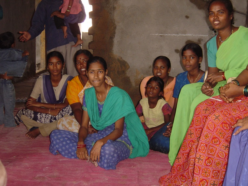 Photo 2 : Focus Group à BS Makta, Somajiguda (Kennedy, 2005)