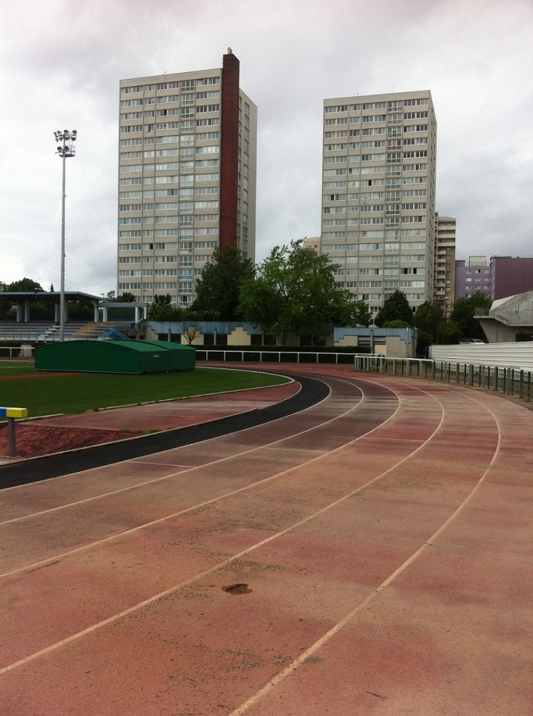 1. Le quartier du stade municipal, Aubervilliers (Fabien Truong, 2014).