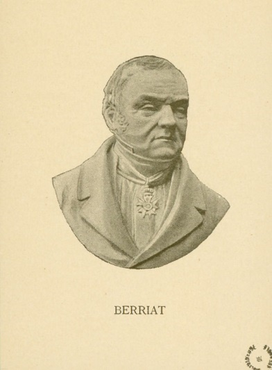 3. Honoré-Hugues Berriat, maire de Grenoble de 1835 à 1842 (Bibliothèque municipale de Grenoble, 1887)