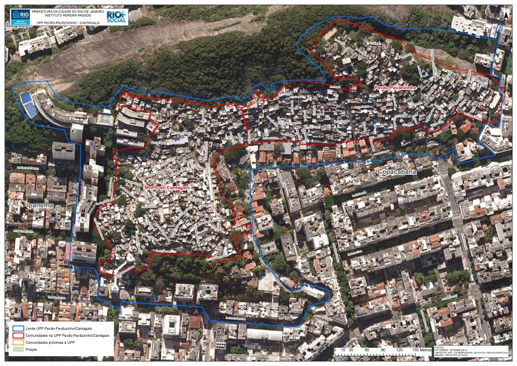 1. Photographie aérienne de Cantagalo (IPP-Rio, 2013)