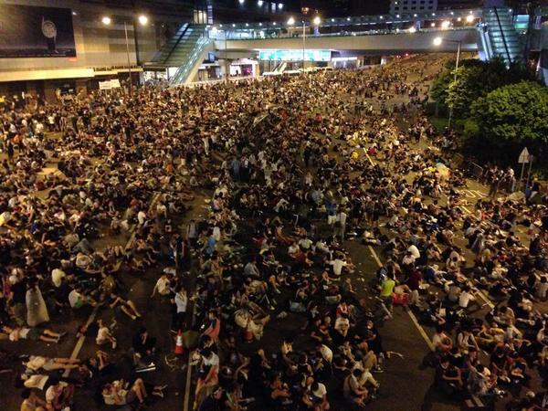 3. Quartier Général de l'exécutif hongkongais le 28 septembre 2014 à 3h (Siu P. 2014)