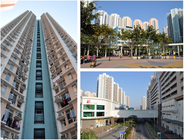 5. Le quartier de Tin Chung Court1 dans la ville nouvelle de Tin Shui Wai - district de Yuen Long (Douay, 2014)