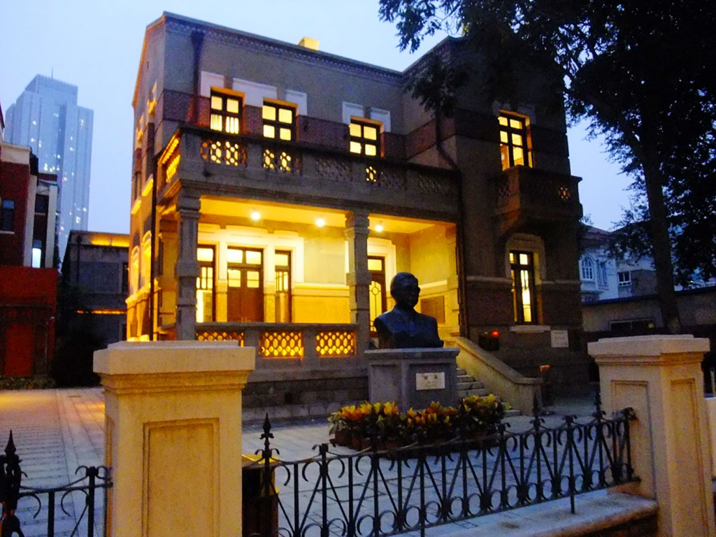 5. Le musée de Cao Yu dans le New I-Style Town. Ce musée est un peu à l'écart des rues piétonnes situées au cœur du I-Style Town limitant sa visibilité auprès des visiteurs (Lu, 2015)