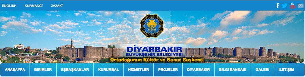 3. «Mairie métropolitaine de Diyarbakır. La capitale des arts et de la culture du Moyen-Orient» (DBB, 2016).