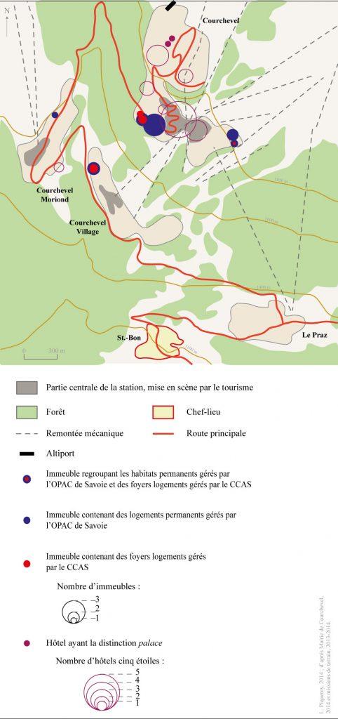 2. De l'étagement altitudinal à celui de l'élitisme: la mise en tourisme de Courchevel (Piquerey, 2014)