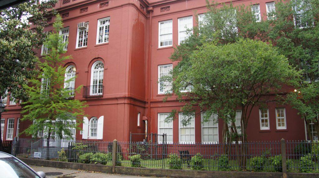10. McDonough Public School, école élémentaire opérée par KIPP depuis l'ouragan Katrina à la Nouvelle-Orléans, Louisiane (Nafaa, 2016)