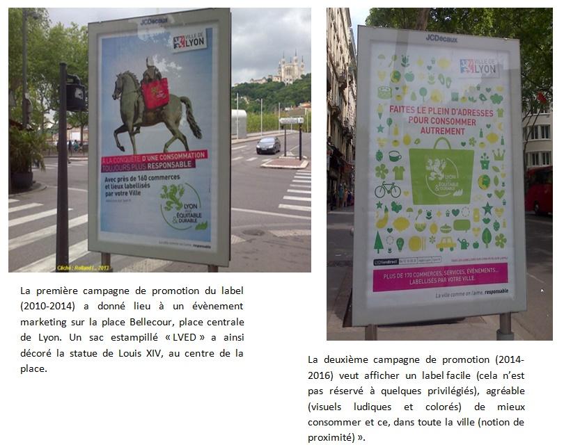 4. De Louis XIV au panier de courses, les icônes de la consommation responsable à Lyon (Rolland, 2013 et 2014)