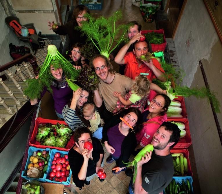 5. «Cantine Good Food» à l'école:la mise en scène du légume produit «ici» (Réseau des écoles bruxelloises en action pour l'environnement, 2016)