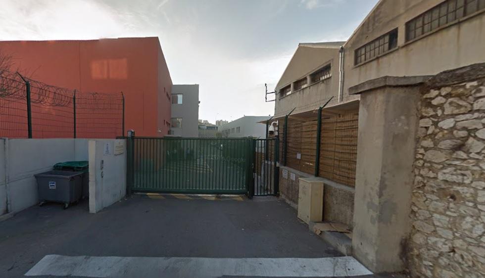 4. Entrée banalisée de l'entrée du CRA du Canet (Capture Google maps)