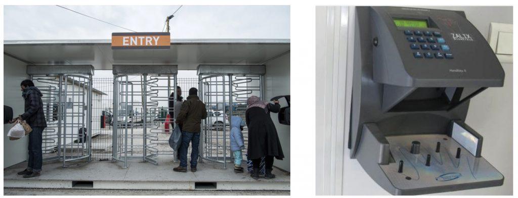 2. Les dispositifs de sécurité à l'entrée du CAP (Bunel, La Voix du Nord, 2016)