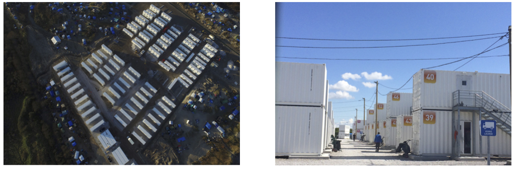 8 habiter le temporaire et la contrainte le centre d for Habiter container