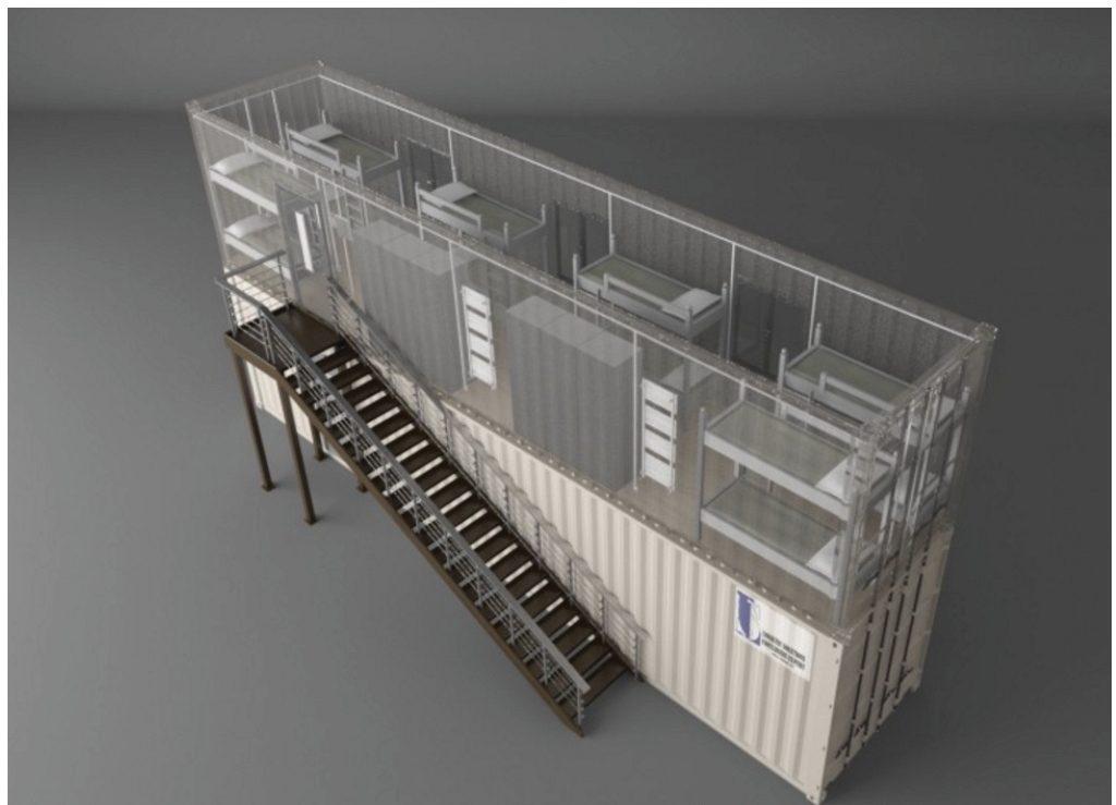 6. Le conteneur du CAP (LS Container, 2015)