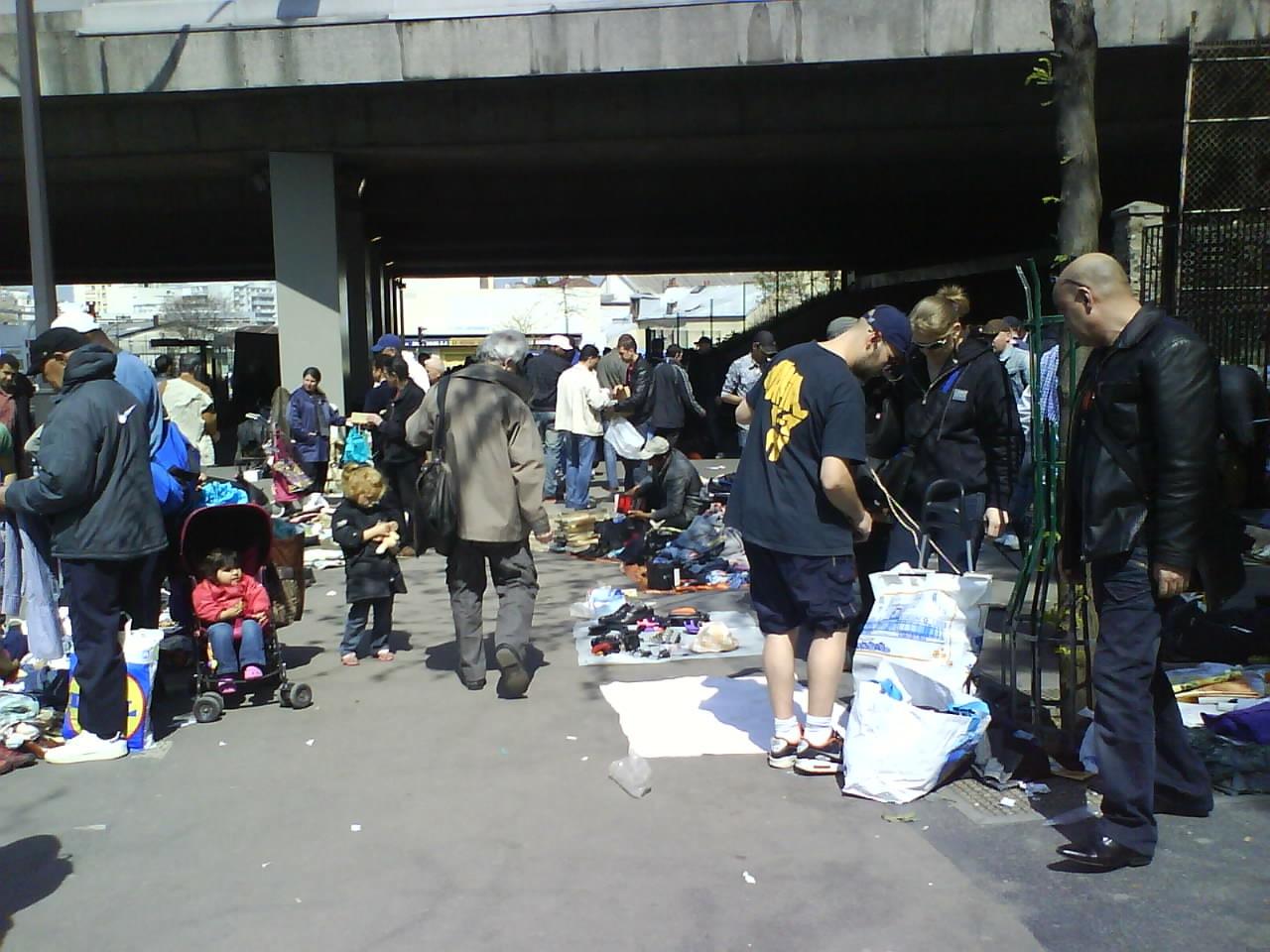 2. Marché de la porte Montmartre (Milliot 2009)