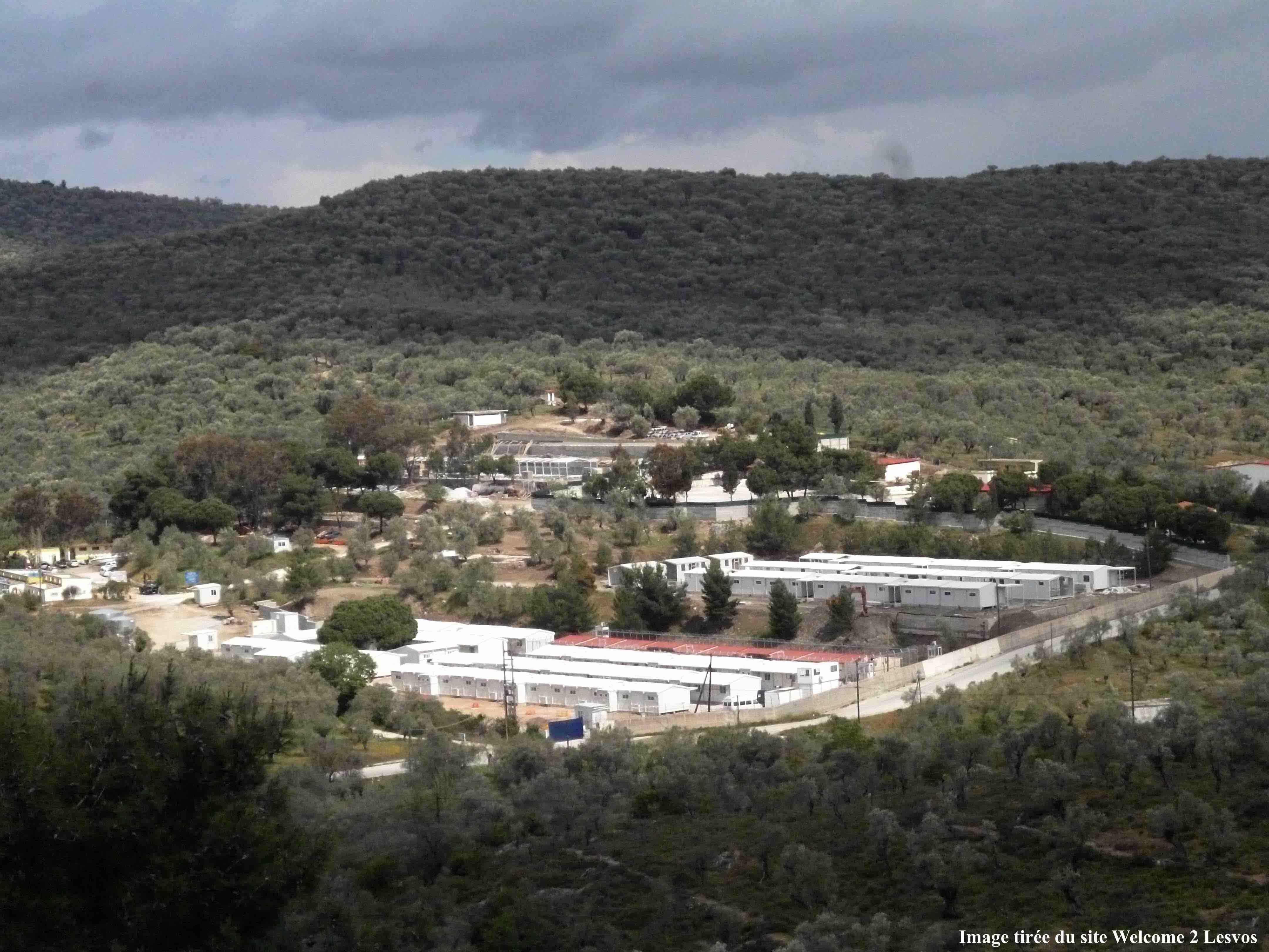 13. Le centre de Moria, à Lesbos, en juin 2014 (image tirée du site Welcome2Lesvos, droits réservés)